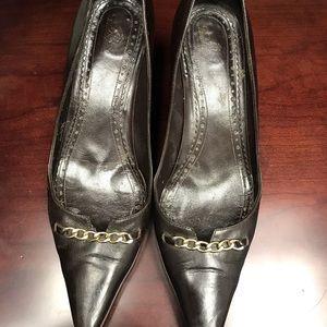 Brooks Brothers ITALIAN Leather Brown Heels